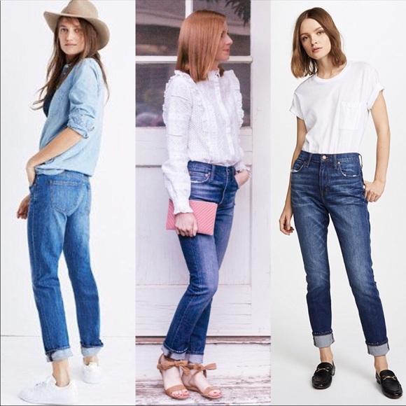 7a9291757b5b38 Madewell Denim - Madewell High Rise slim Boyfriend Jeans